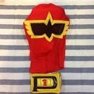 ヒーローマスク ベルト付き 美品