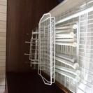 ワイヤーラック&かご&突っ張り棒(簡易水切りかごに使えます)