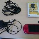 PSP 3000 新品同様 メモステ、テレビで見れるケーブル付