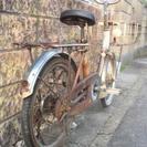 古いヤクルト自転車!オブジェにも
