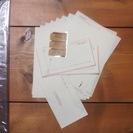 エアメールのレターセット4種類と長封筒のセット [お値下げしました]