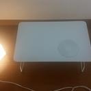 照明器具とミニテーブル
