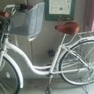 自転車 子ども乗せ 美品 26インチ