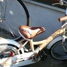 ☆美品☆16インチ補助輪付き自転車