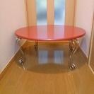 ☆ピンク ローテーブル 75㎝
