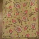 【取引完了】マイメロの大きめ布団カバー(未使用品)