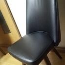 黒の回転椅子(2脚セット)