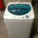 お取引中☆2005年製 4.5kg シャープ 洗濯機 糸くずフィル...