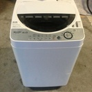 2006年製 6.0kg シャープ 洗濯機 ステンレス槽