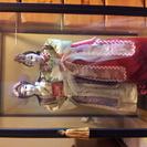 昔の韓国のチマチョゴリを着たお人形さん。ケース入り