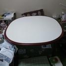 ローソファーにぴったり高めのテーブル