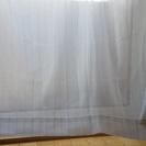 レースカーテン 100㎝×130㎝ 2枚組