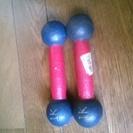 夏に向けての手軽なトレーニング!1キロの鉄アレイセット