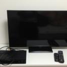 32型テレビ+DVDプレーヤー