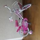 子供用 自転車 ジュエルペット サンリオ