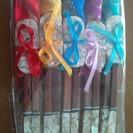 ベトナム雑貨 【新品】祝い箸置きと箸のセット