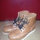 茶色のブーツ 美品
