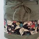 同梱で無料 値下げ短め巻きスカート型エプロン