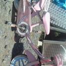 (交渉中)子供用補助輪付き自転車