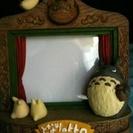 ジブリ  トトロの写真立て