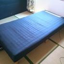 シングルベッド使用感あり