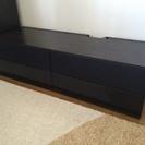 IKEA 黒のテレビ台