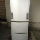 2010年製 シャープ 3ドア 345L ノンフロン冷凍冷蔵庫 シルバー