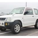 三菱 パジェロミニ 660 X 4WD T/V交換済み(ホワイ...