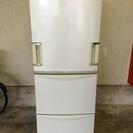 2005年製 シャープ 3ドア 345L ノンフロン冷凍冷蔵庫  グレー