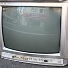 aiwaの99年製21型ブラウン管TVあげます