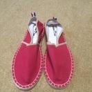 レッド(^_^)赤色(^_^)靴26.0〜26.5
