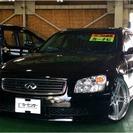 日産 ステージア 3.5 350RX 日正タイヤ車高調 20AW...