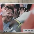 サンフィレッチェ浅野琢磨選手の写真パネル
