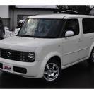 日産 キューブ 1.4 EX 4WD 1.4L(ホワイト) ハ...