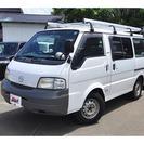 マツダ ボンゴバン 1.8 DX 低床 4WD (ホワイト) ...