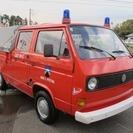 VW T3 DOKA  Wキャブ