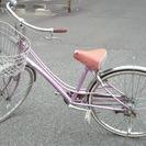 通勤通学自転車  ※前輪タイヤ要交換