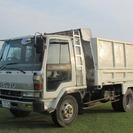 いすゞ フォワード ダンプ (ホワイト) トラック