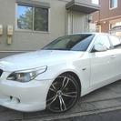 BMW 5シリーズ 525i ハイライン 黒革 HDDナビ 社外...