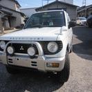 三菱 パジェロミニ 660 XR-II CD付き アルミ(ホワ...