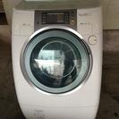 National ドラム式洗濯乾燥機 お風呂水ポンプホース付き