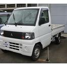 三菱 ミニキャブトラック 660 Vタイプ エアコン付 (ホワ...