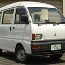 三菱 ミニキャブバン 660 CL ハイルーフ 4WD 5速MT...