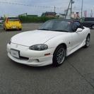 マツダ ロードスター 1.8 RS (ホワイト) オープン