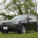 BMW X3 2.5si 4WD HID(ブラック) クロカン...