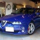 アルファ ロメオ アルファ156 GTA (ブルー) セダン