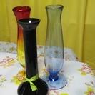 一輪差しの花瓶をお譲り致します。★3個セットです。ガラスです。