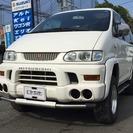 三菱 デリカスペースギア 3.0 シャモニー ハイルーフ 4WD...