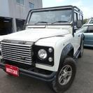 ランドローバー ディフェンダー 90 4WD (ホワイト) ク...