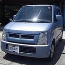 スズキ ワゴンR 660 FX ・キーレス・CD(ライトブルー...